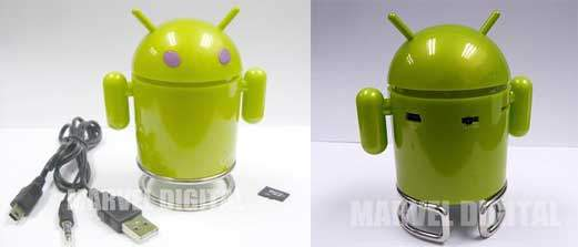 robotandroidcassecellulare