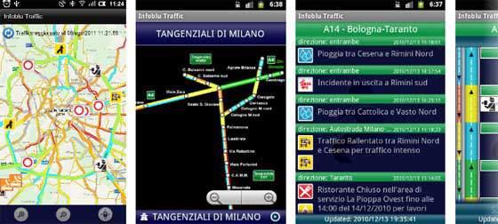 Infoblu traffic download traffico in tempo reale for Traffico autostrade in tempo reale