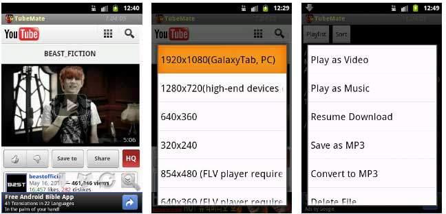 programma per scaricare video da youtube android
