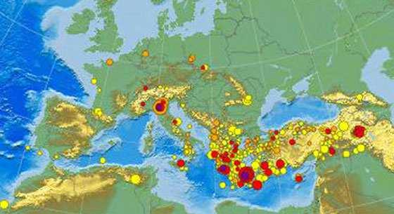 Cartina Italia Terremoti.Terremoti Italia In Tempo Reale Applicazione Android Con Mappa Rilevazione Oggi