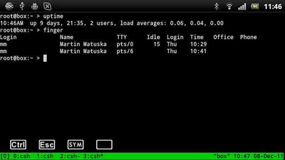VX ConnectBot: client SSH Telnet per Android Download Gratis