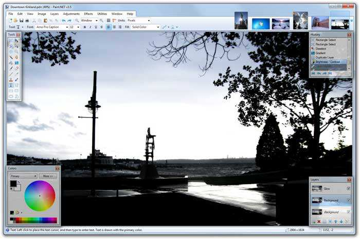 Software alternativo a Photoshop Gratis leggero e veloce?