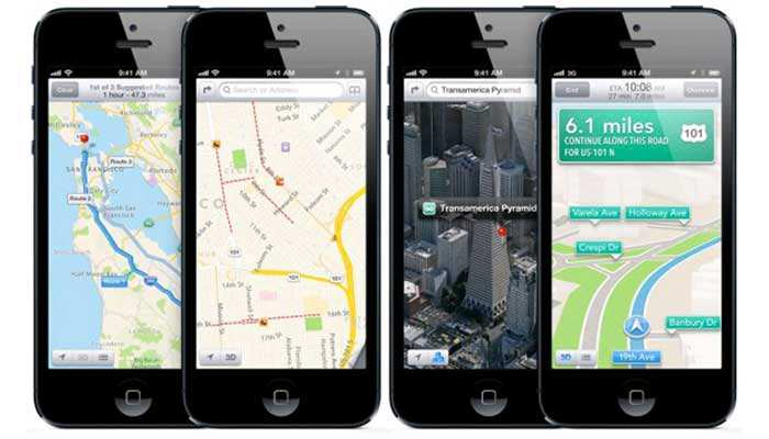 navigatore satellitare per iphone