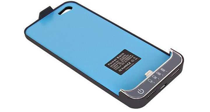 iphone 5 custodia batteria