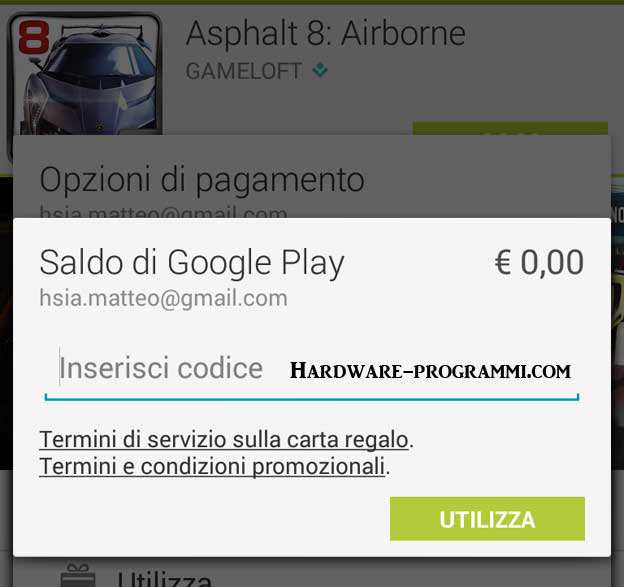 Gift card amazon dove si acquista