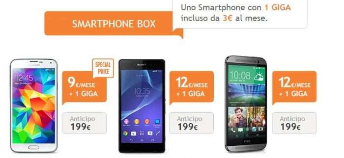 Smartphone incluso promozioni Wind Tre Vodafone TIM