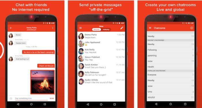 inviare messaggi senza internet