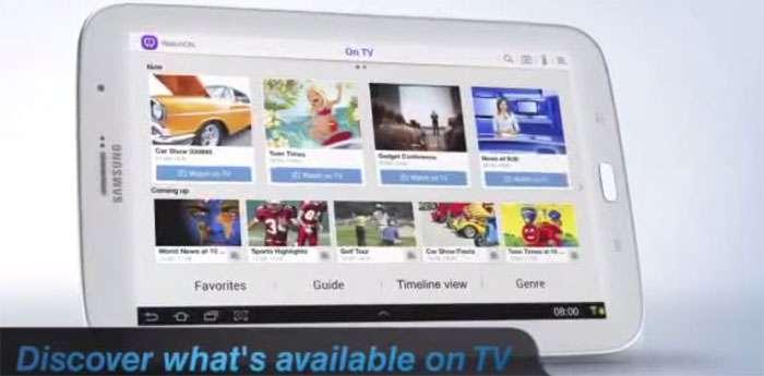 Samsung watchon usare galaxy s5 come telecomando for Telecomando smart tv