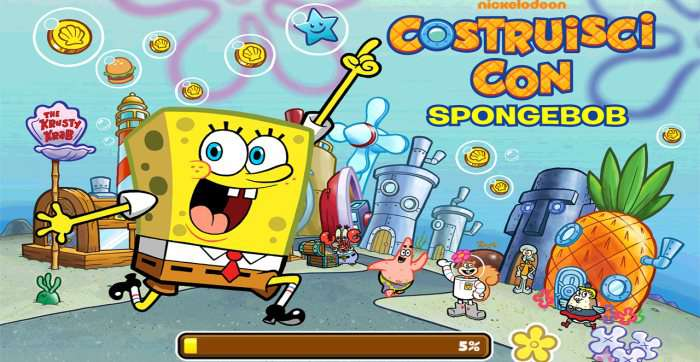 gioco spongebob giocare