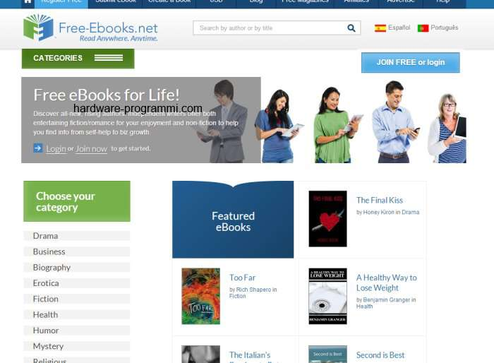 Download the free ebooks using the links below