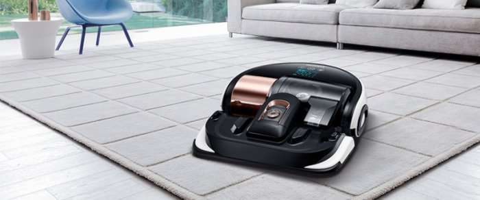 samsung vr9000h robot aspirapolvere lavapavimenti prezzo con telecomando. Black Bedroom Furniture Sets. Home Design Ideas