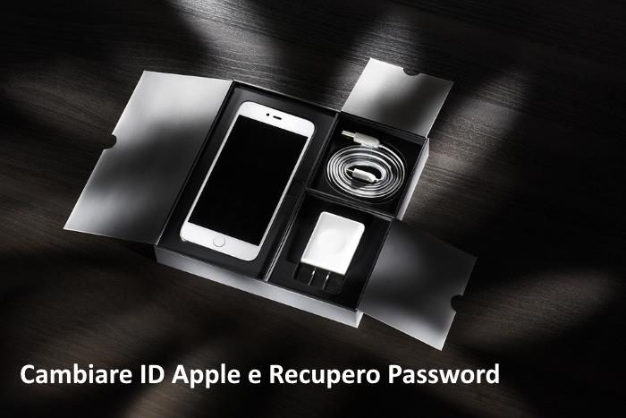 come cambiare id apple recupero password