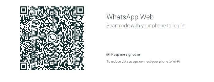 whatsapp via web da pc
