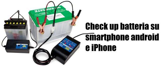 check up batteria smartphone
