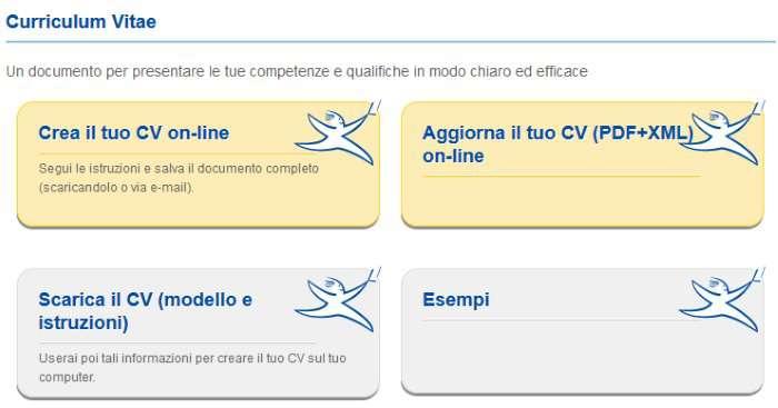 Curriculum Vitae Formato Europeo Modello Da Compilare E App Per