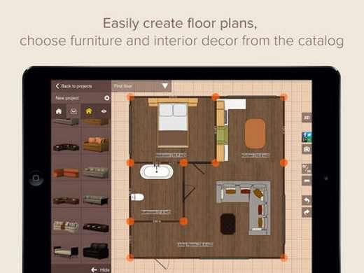 Come arredare e ristrutturare casa idee bagno cucine camere creare piantine con misure - Planner bagno 3d ...