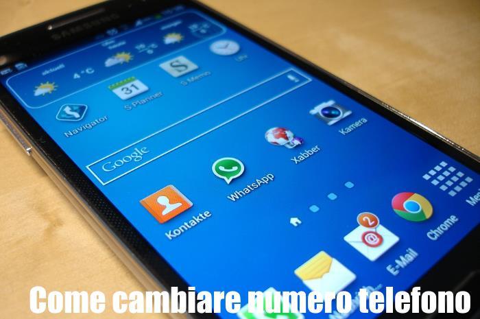 Cambiare numero whatsapp senza perdere dati messaggi contatti - Numero di telefono piscina ortacesus ...