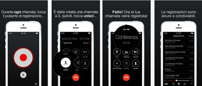 come registrare chiamate iphone