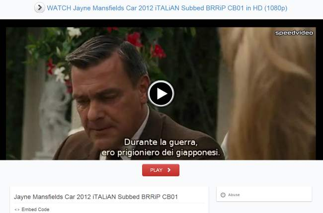vedere film streaming pc