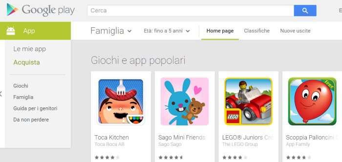 Applicazioni E Giochi Per Bambini Download Gratis Dove Scaricare Android