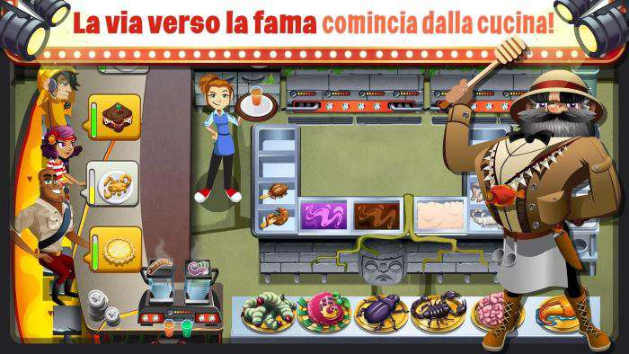 gioco cucina android 2016
