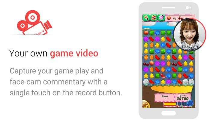 Game Recorder+: come registrare GamePlay giochi su Android e inserire il riquadro con la faccia