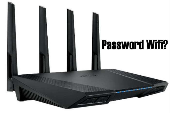 visualizzare password wifi