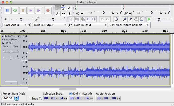 programma per tagliare musica mac