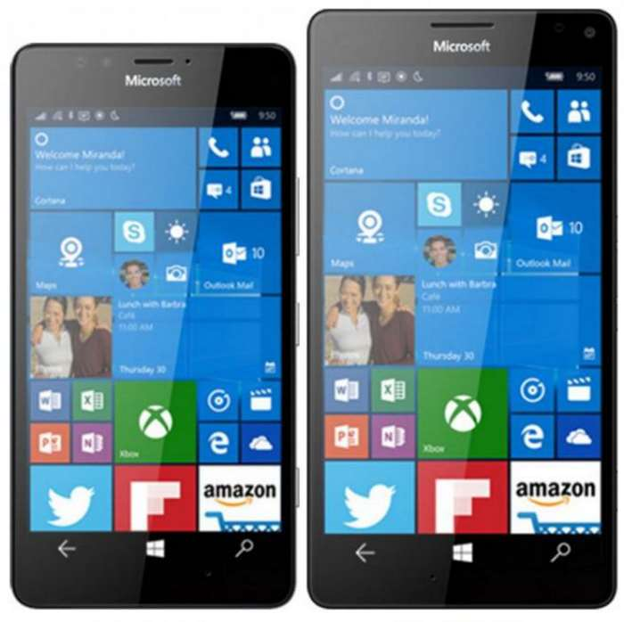 windows lumia 950 scheda tecnica