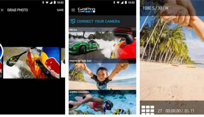gopro applicazione android