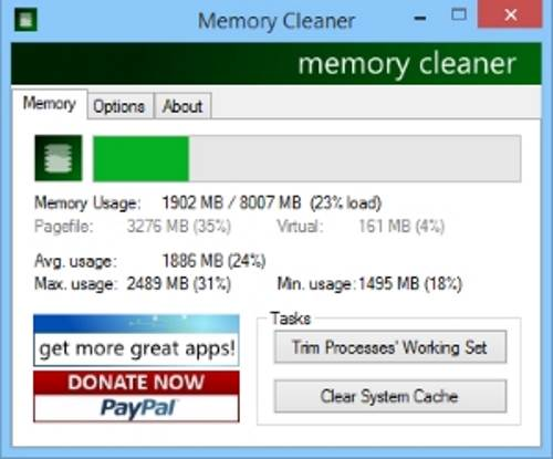 memory cleaner windows