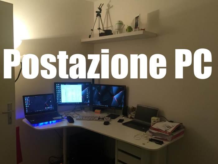Postazione Pc Desktop Notebook Gaming Portatile Ultrabook