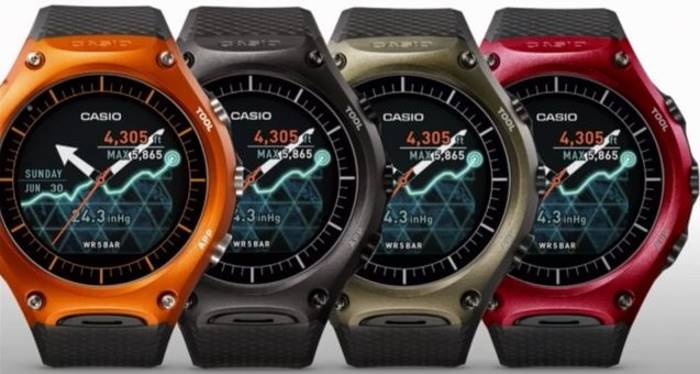 orologio android wear water resistant
