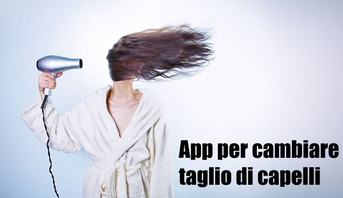 App tagli di capelli