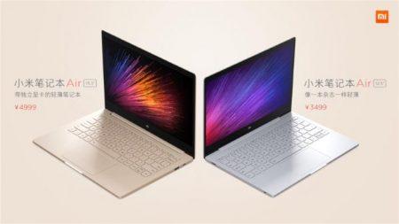 Xiaomi Mi Notebook Air vs MAC