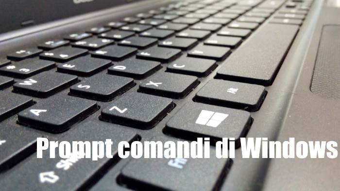 come avviare prompt comandi windows