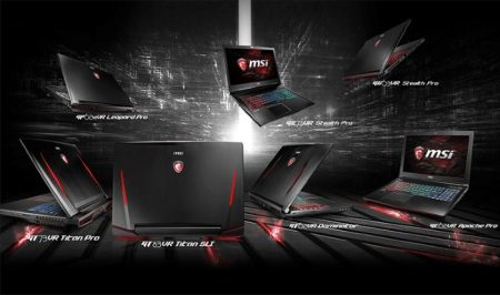 msi notebook gaming VR ready 2017