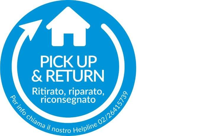 Assistenza guasti smartphone con ritiro a domicilio in 48 ore con Alcatel Pick Up and Return
