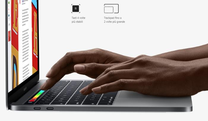 touchpad-tastiera-macbook-pro