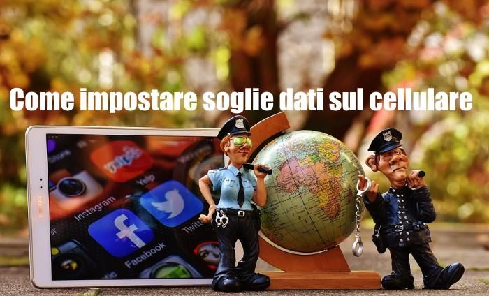 Come impostare soglia dati internet su iPhone e smartphone Android