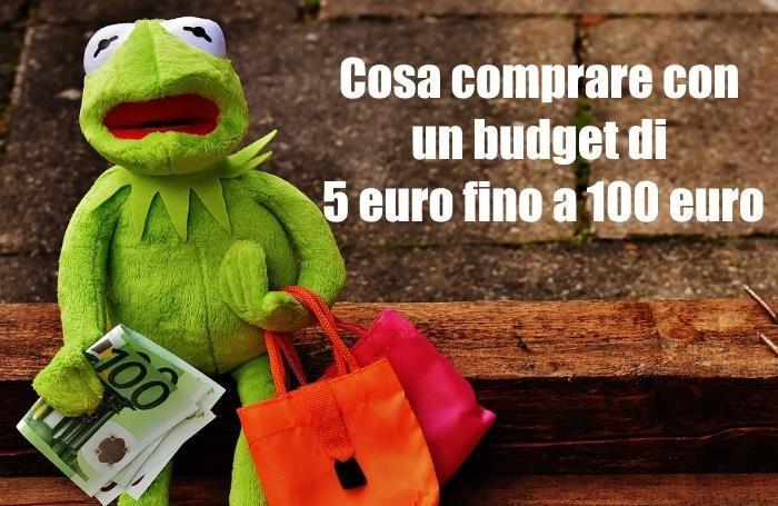 Cosa comprare su Amazon Italia con 5, 10, 20, 50, 100 euro: consigli e idee