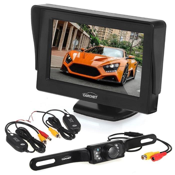 Videocamera retromarcia targa parcheggio auto wifi come for Camera targa