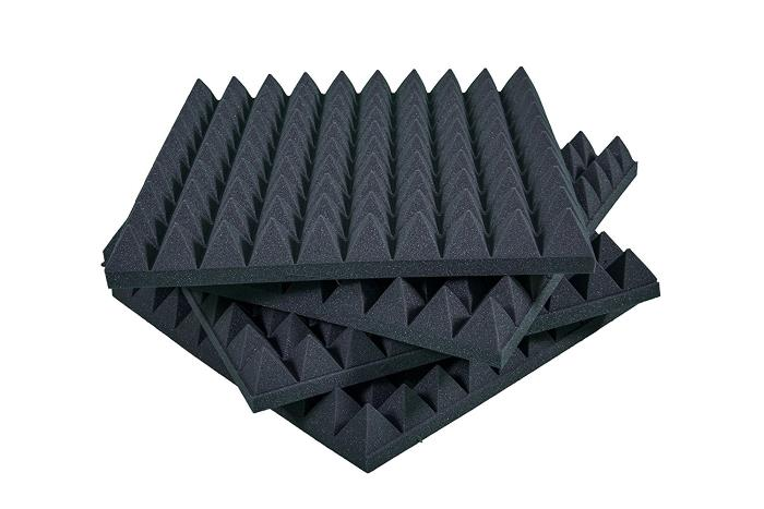 Pannelli fonoassorbenti isolanti per pareti piramidali for Pannello fonoassorbente leroy merlin