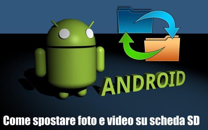 Come inserire e spostare foto / video su microSD esterna smartphone Android