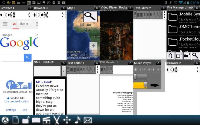 Screens – Multi Window Manager: come dividere lo schermo in due su Android 7.0 Nougat