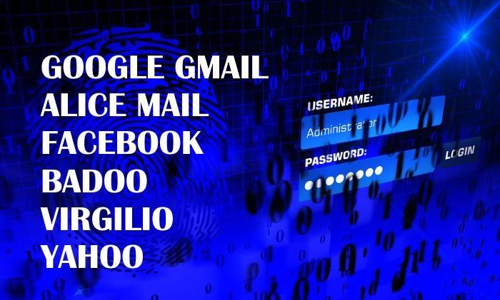 come fare login posta social