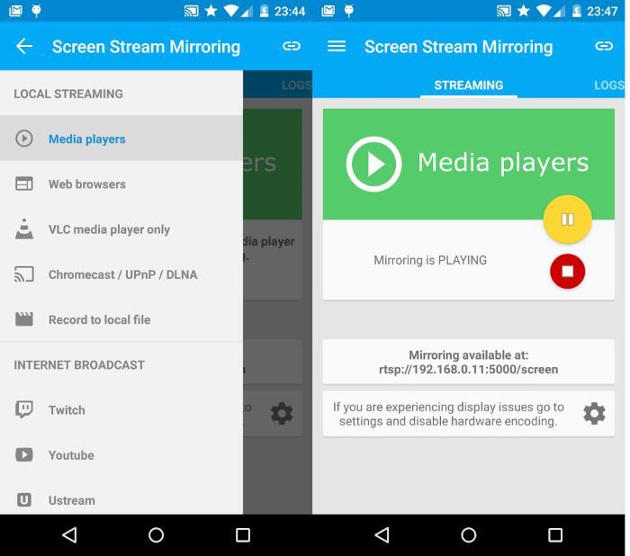 Streaming schermo iphone su tv