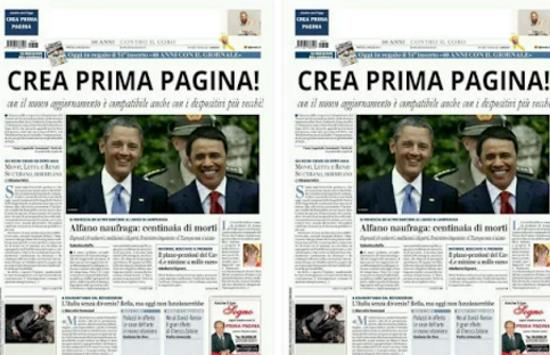 Come Creare Prima Pagina Giornale Copertina Rivista Scherzo Con Foto