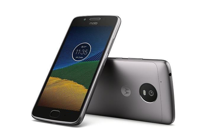 Lenovo Moto G5 smartphone
