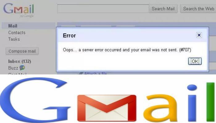 errore 007 gmail come risolvere